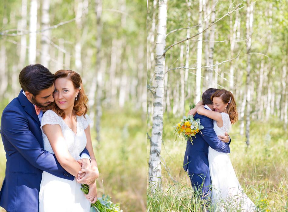 BröllopsfotografiMotalabjörkskog