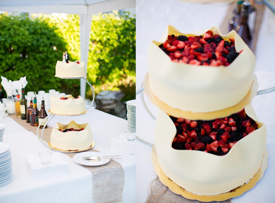 BröllopsfotografiMotalabröllopstårta