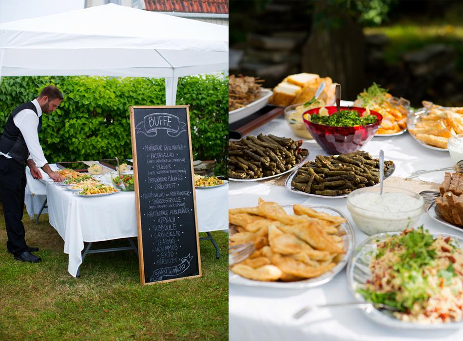 BröllopsfotografiMotalamiddagenmat