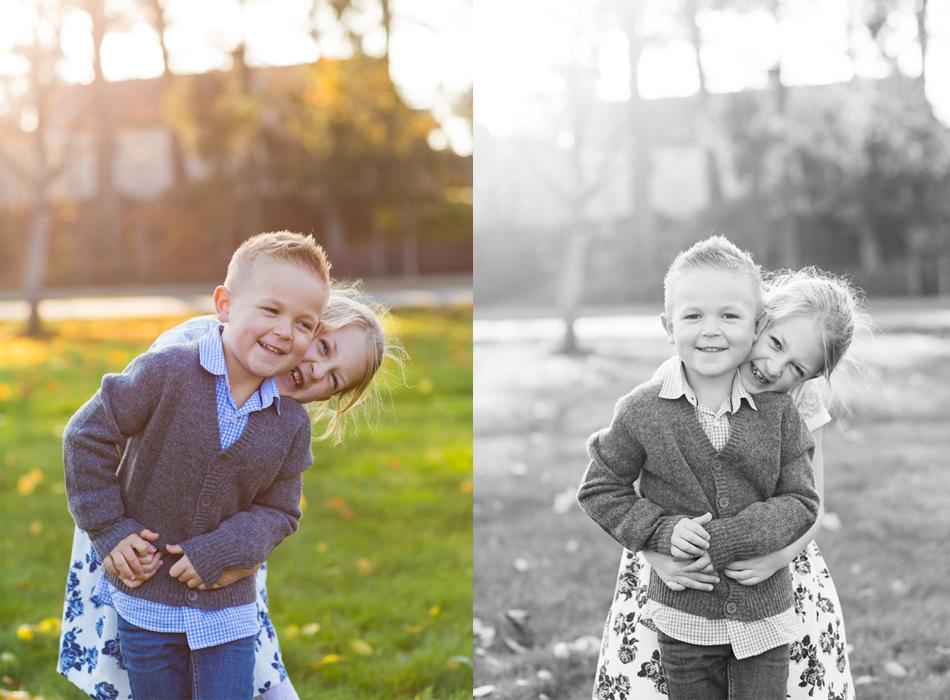 familjefotografering kram